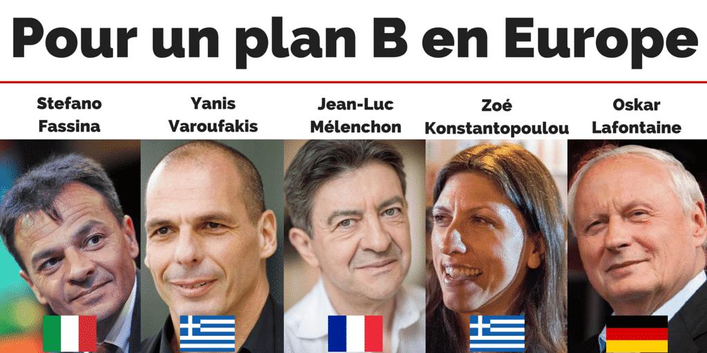Pour un plan B en Europe