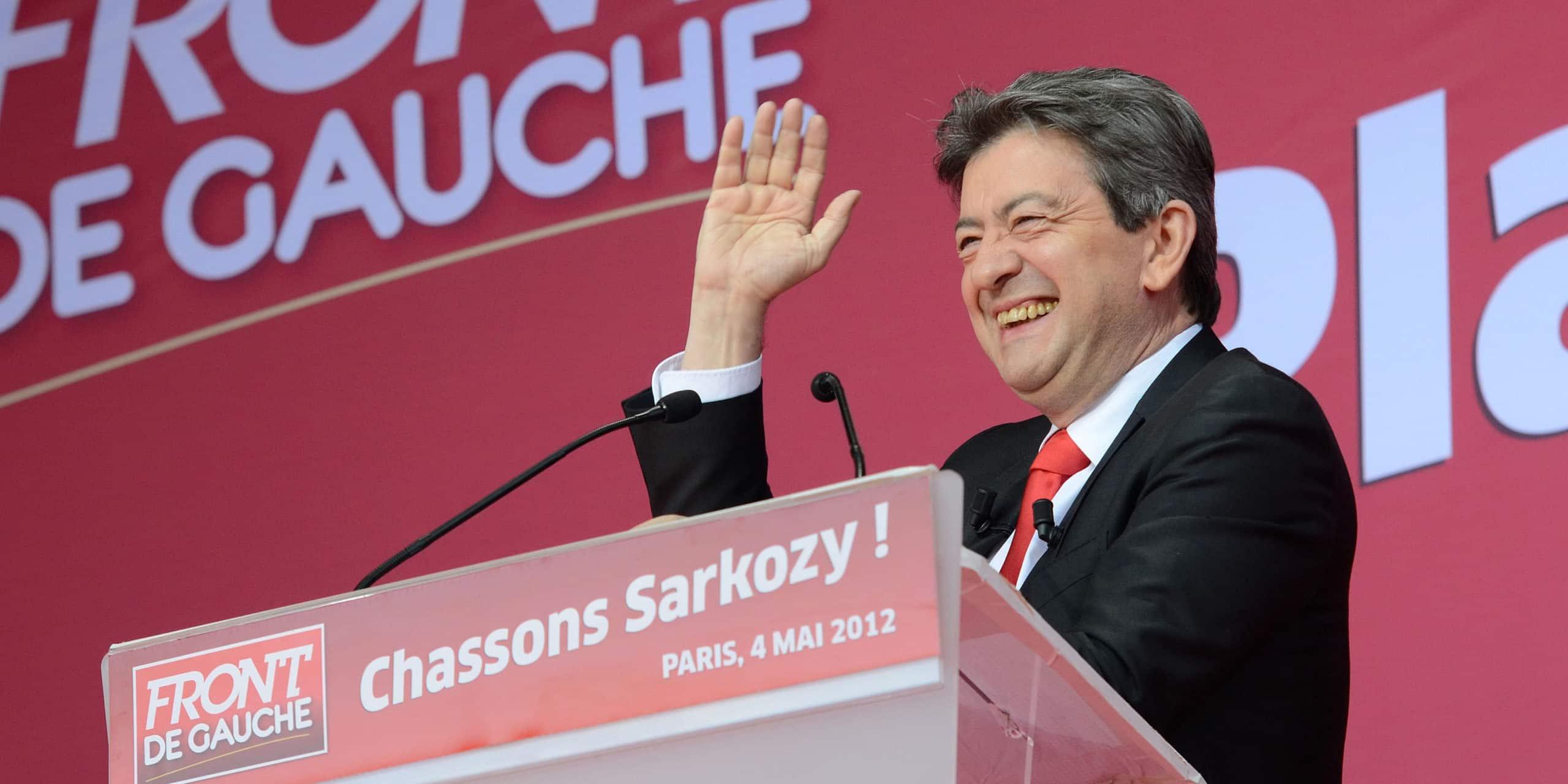 Discours place Stalingrad à Paris : « Chassons Sarkozy »