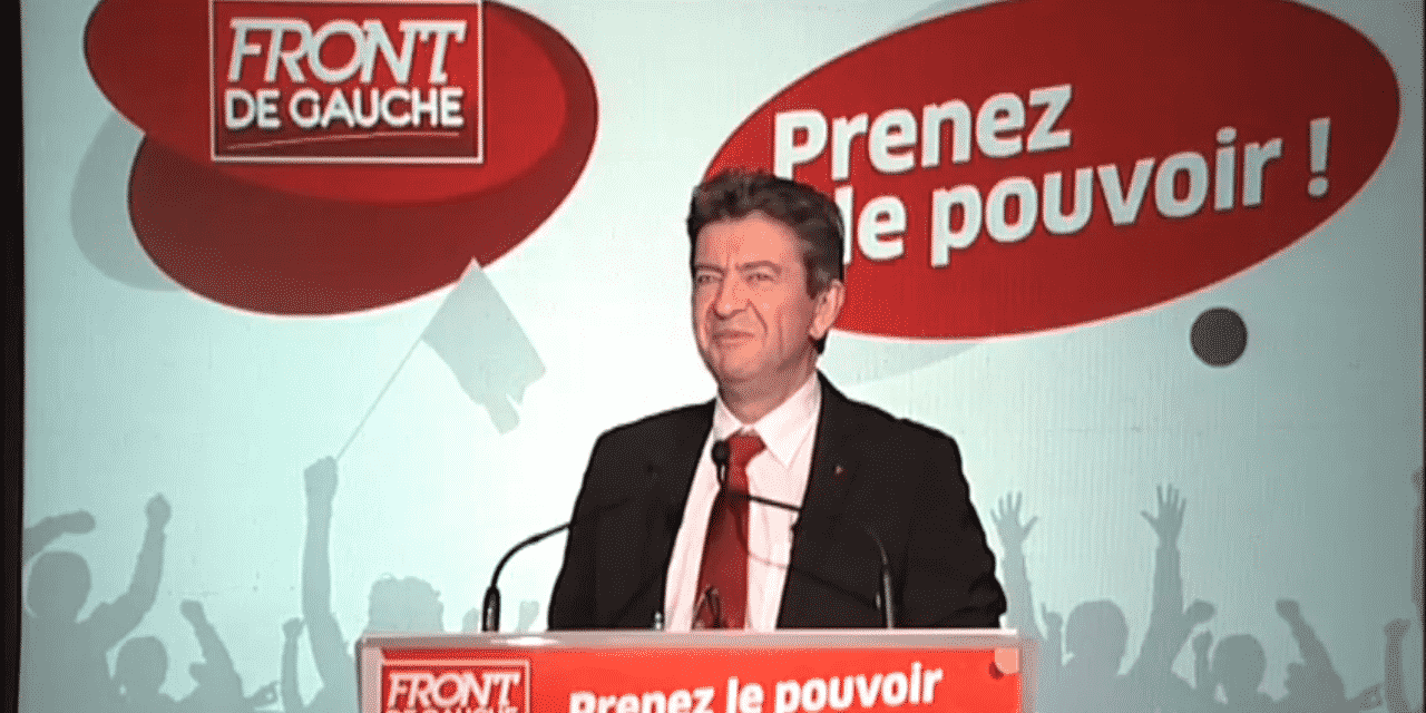 Voeux 2012 de Jean-Luc Mélenchon, candidat du Front de Gauche