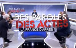Invité de « Des paroles et des actes /#DPDA » sur France 2