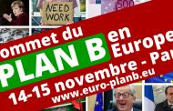 Sommet du plan B en Europe les 14 et 15 novembre
