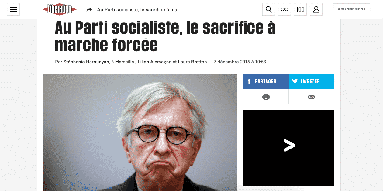Jean-Pierre Masseret refuse de se retirer, « Libération » et « Europe1 » le lui font payer