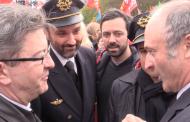 Rassemblement de soutien aux salariés d'Air France