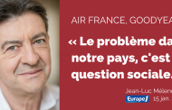 Air France, Goodyear : « Le problème dans notre pays, c'est la question sociale »