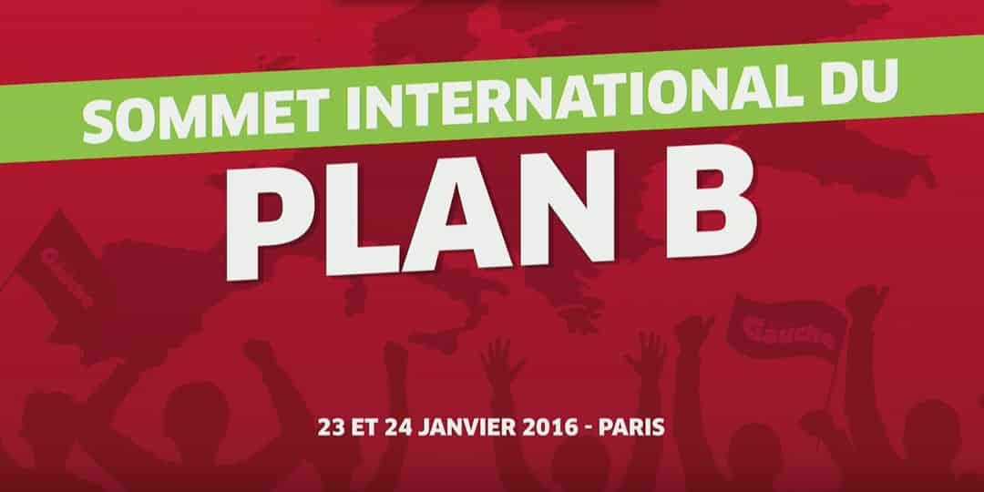 Déclaration pour une conférence permanente du Plan B en Europe