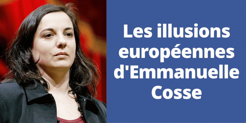 Europe : les illusions d'Emmanuelle Cosse