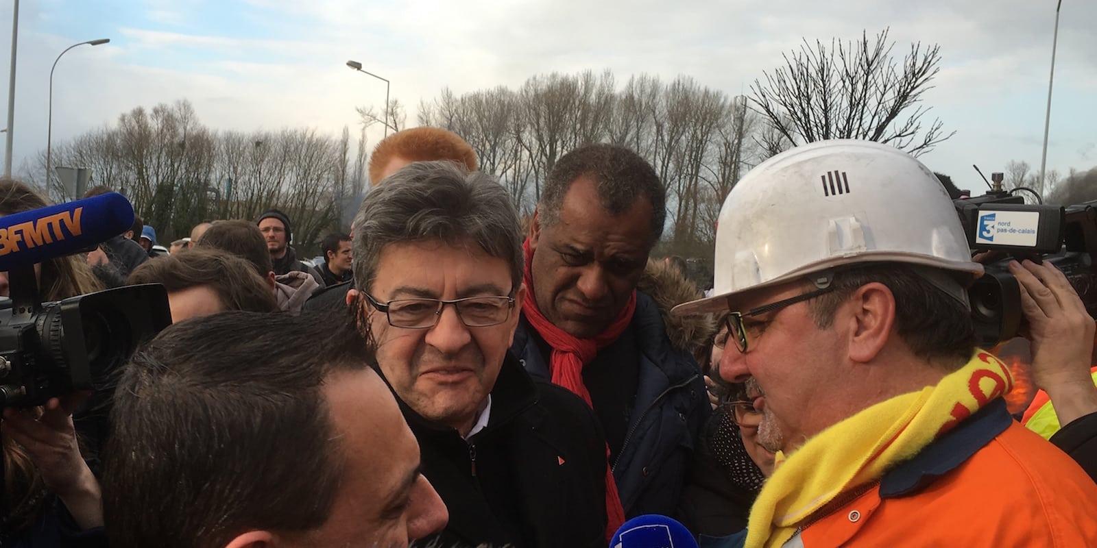 Loi Travail : Mélenchon continue de demander le «retrait total»