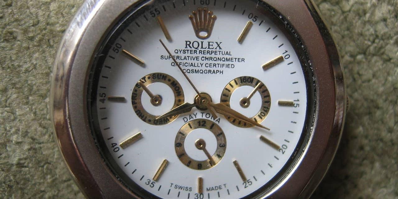 Je n'ai pas de Rolex et je n'en désire pas