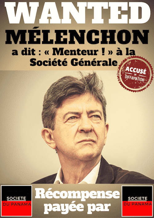 melenchon wanted societe generale