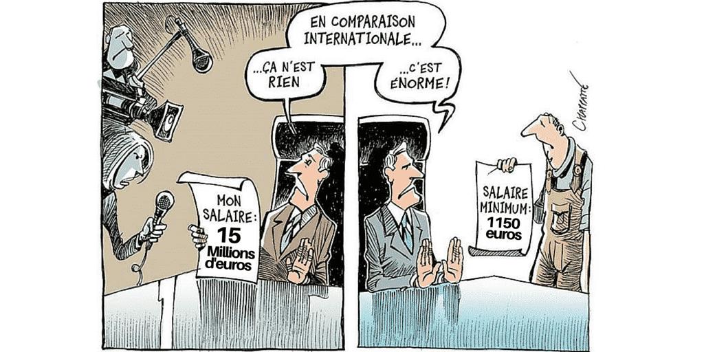 Le salaire maximum patronal doit être instauré