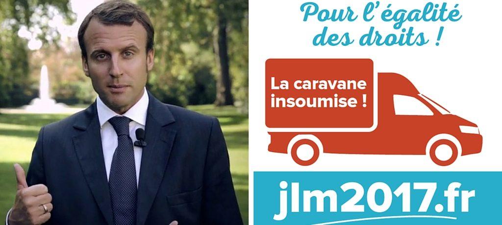 Macron aboie, la caravane passe
