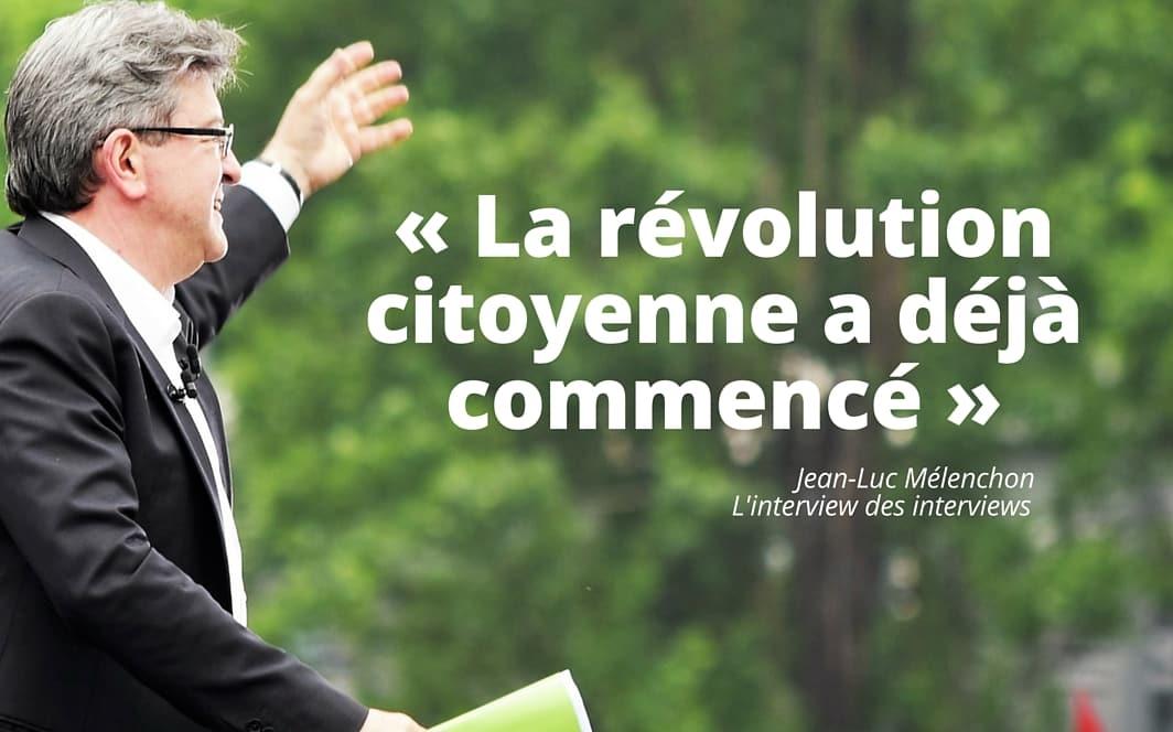 « La révolution citoyenne a déjà commencé » - L'interview des interview