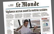 « Je suis le bulletin de vote stable et sûr » - Interview dans <i>Le Monde</i>