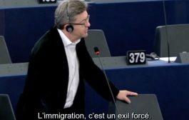 « L'immigration est un exil forcé » - Intervention au Parlement européen
