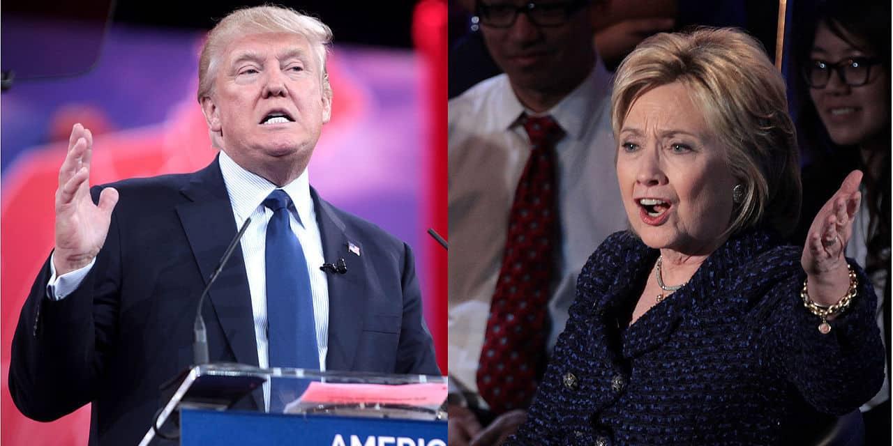 Les Clinton mènent toujours à Trump