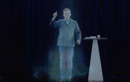 Double meeting à Lyon et Paris en hologramme