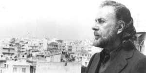 Le poète grec Yánnis Rístos