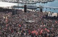 Meeting pour la paix à Marseille