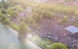 Meeting pour la liberté à Toulouse