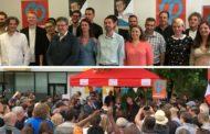 Journée de soutien aux candidats de la France insoumise dans le Nord