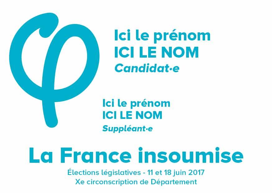 Reconnaissez facilement le bulletin de vote de la France insoumise