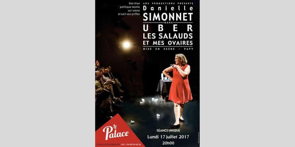 Danièle Simonnet à Avignon le lundi 17 juillet à 20h au Palace