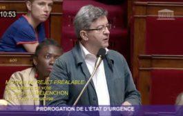À l'Assemblée nationale contre la prorogation de l'état d'urgence