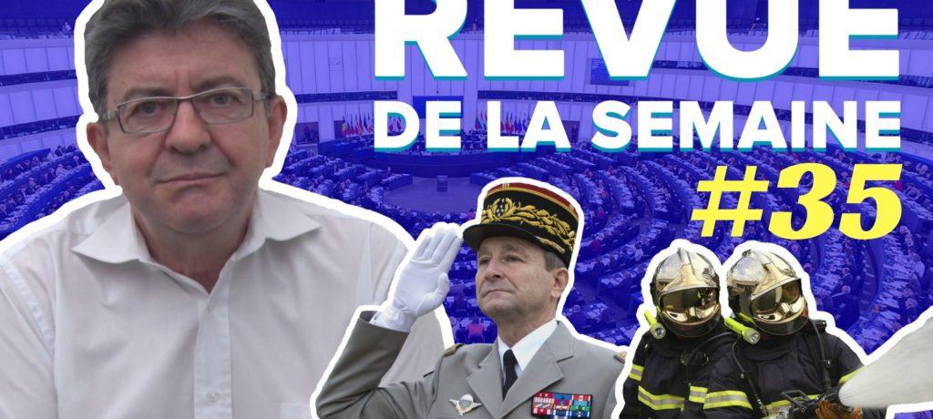 Revue de la semaine 35 : général de Villiers, incendies, assistants parlementaires