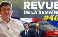 Revue de la semaine #40 : La Réunion, STX, Alstom, Macron et l'Europe, débat avec Philippe