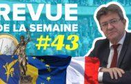Revue de la semaine #43 : Europe, budget, terrorisme, extrême droite, syndicalisme