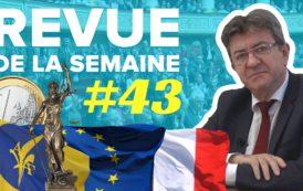 Revue de la semaine 43 : Europe, budget, terrorisme, extrême droite, syndicalisme