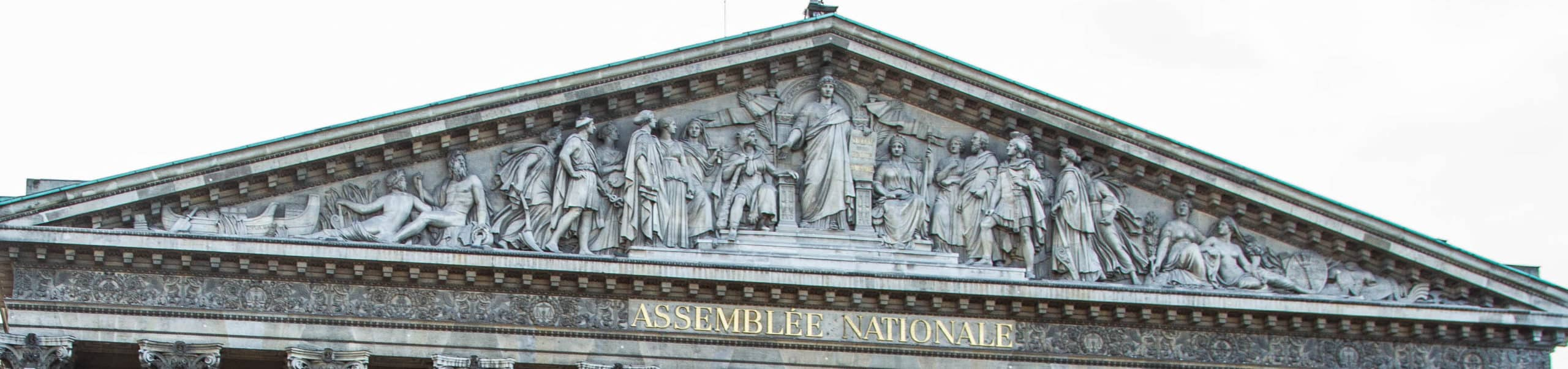 fronton assemblee nationale