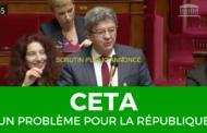 CETA - Un problème pour la République