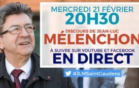EN DIRECT – Réunion publique de Jean-Luc Mélenchon à Saint-Gaudens