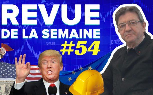 Revue de la semaine #54 : Antiparlementarisme, bulle financière, Trump, travail détaché, burnout
