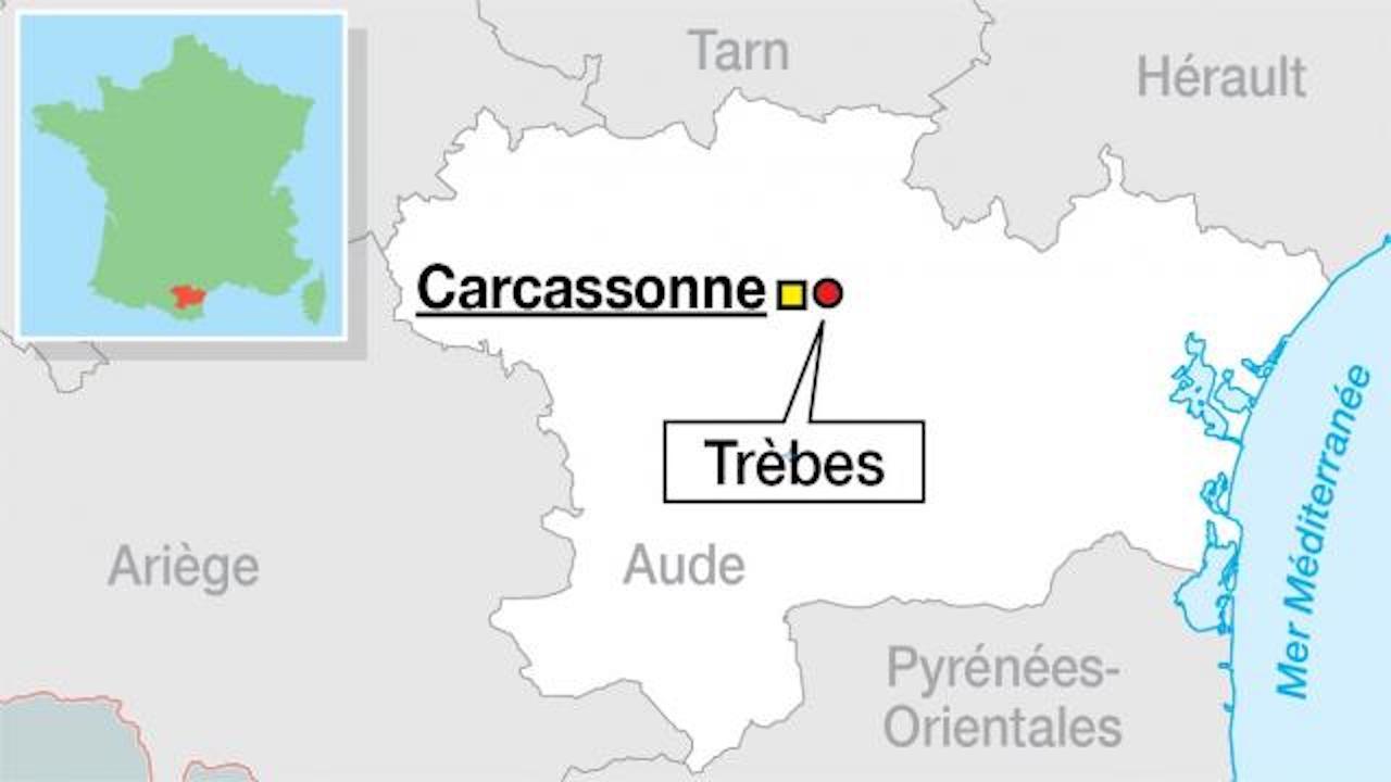 Solidarité et pensées pour les proches des victimes des attentats de Trèbes et Carcassonne