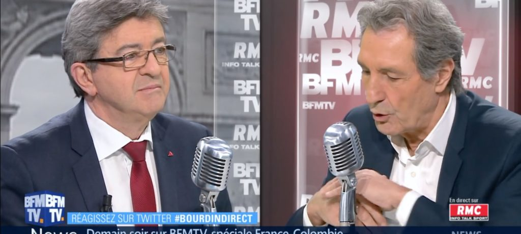 VIDÉO - «Face à Macron, il faut créer un rapport de force» (Bourdin Direct)