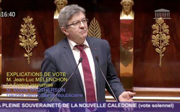 VIDÉO - Nouvelle-Calédonie : intervention sur le référendum d'autodétermination