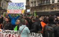 Communiqué suite à la manifestation des cheminots Gare de l'Est