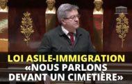 VIDÉO - Loi asile-immigration : «Nous parlons devant un cimetière»