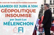 VIDÉO - «Géopolitique insoumise» - #efi5 - 5e cours de l'école de formation de la France insoumise