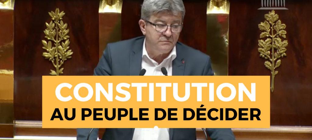 VIDÉO - Le peuple lui-même doit être constituant