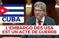 VIDÉO - Cuba : l'embargo des usa est un acte de guerre