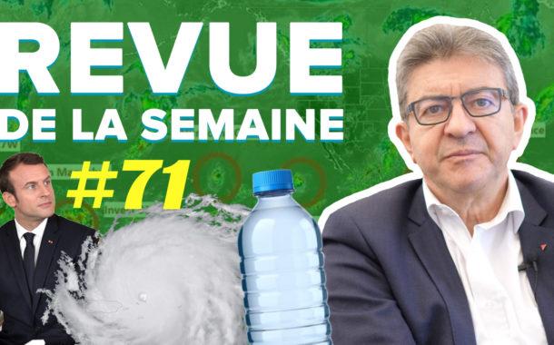 Revue de la semaine #71 : Cyclones, déchets, pauvreté, Vélib, Macron à Marseille
