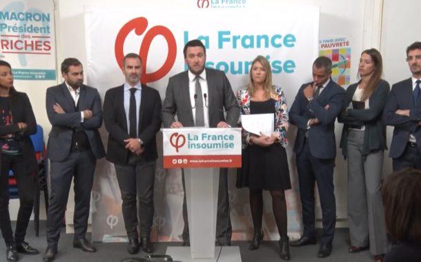 VIDÉO - Conférence de presse des avocats de la France insoumise