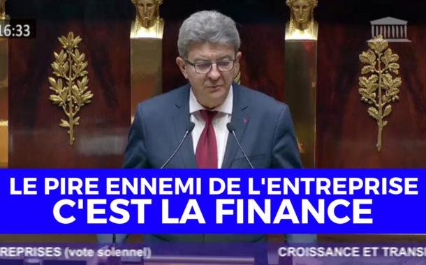 VIDÉO - «Le pire ennemi de l'entreprise, c'est la finance»