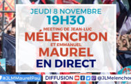 Meeting Mélenchon-Maurel à Pau