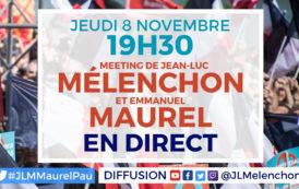 EN DIRECT - Meeting Mélenchon-Maurel à Pau
