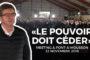 VIDÉO - «Le pouvoir doit céder» - Meeting à Pont-à-Mousson (version complète)