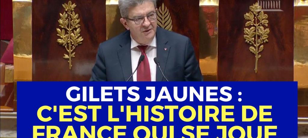 VIDÉO - Gilets jaunes : c'est l'Histoire de France qui se joue